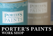 『PORTER'S ORIGINAL PAINTS』WORK SHOP